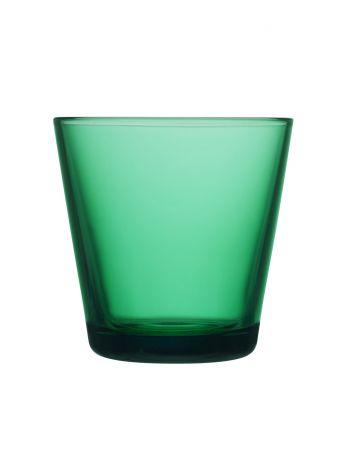Iittala Kartio Glass Emerald 2stk 21 cl