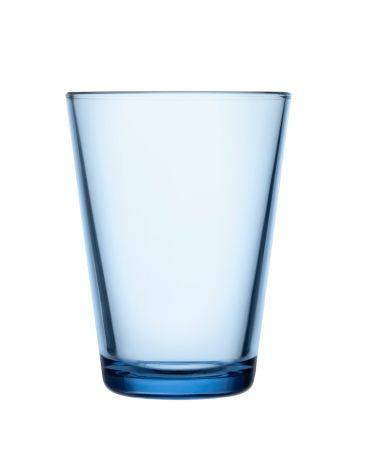 Iittala Kartio Glass 40cl aqua 2stk