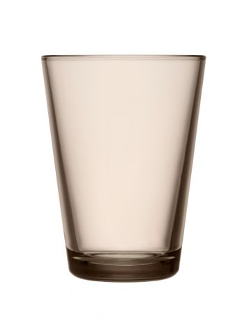 Iittala Kartio Glass 40cl lin 2stk