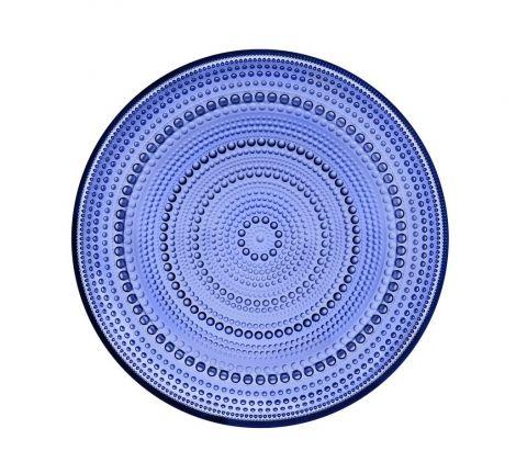 Iittala Kastehelmi tallerken Ultramarine Blå 248mm