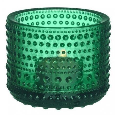 Iittala Kastehelmi lyslykt Emerald 64mm