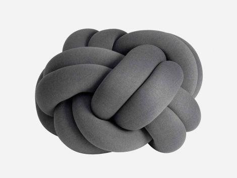 Design House Stockholm Knot Pute XL Grå