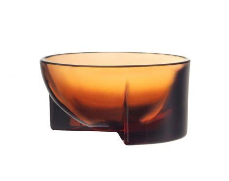 Iittala Kuru glasskål 130x60mm sevilla orange