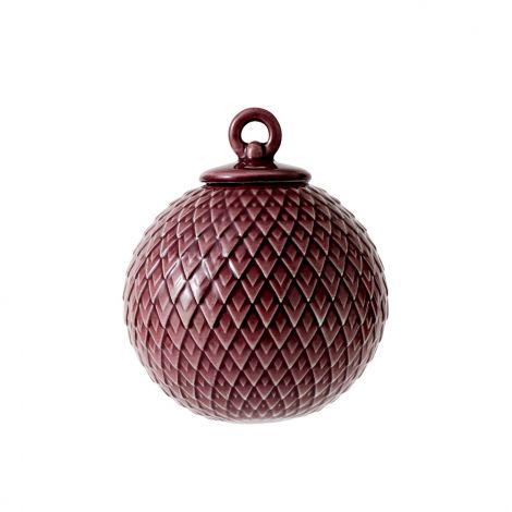 Lyngby Rhombe Kule Bordeaux 7 cm