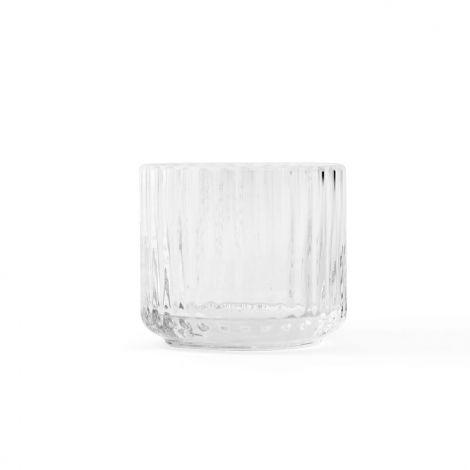 Lyngby Telysholder Glass Klar Liten H5,5 cm