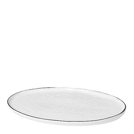 Broste Copenhagen Salt Fat Oval L 30 cm