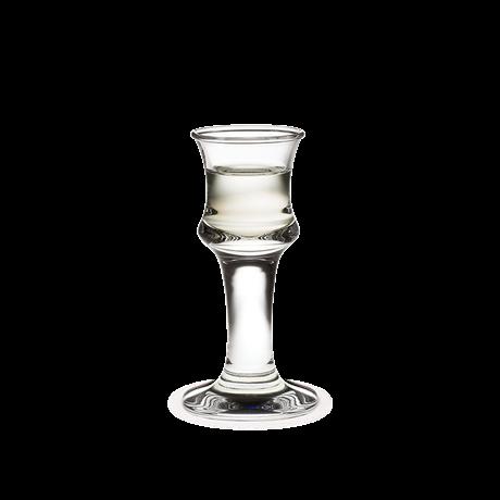 Holmegaard Skibsglas snaps høyt 10cl. (3cl)
