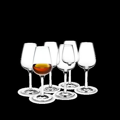 Holmegaard Bouquet Brennevinsglass 13 cl 6stk