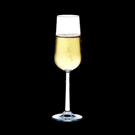 Rosendahl glass champagne 2stk