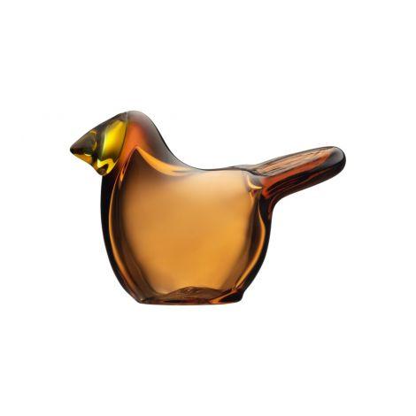Iittala Birds by Toikka Fluesnapper kobber/sitron