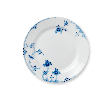 Royal Copenhagen Blue Elements Tallerken 22 cm