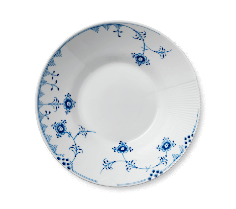 Royal Copenhagen Blue Elements Dyp Tallerken 25 cm. Levering januar 2021.