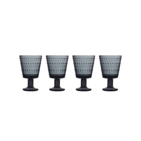 IIttala Kastehelmi u.glass 26cl mørk grå 4-pk 2021