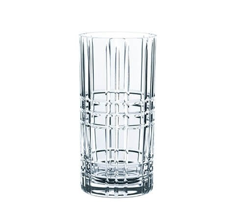 Nachtmann Square Longdrink Glass 4 pk 45 cl