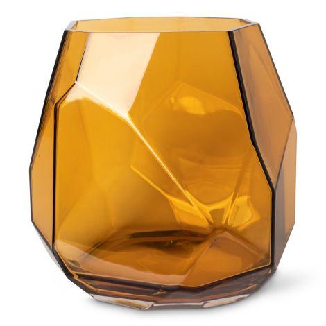 Magnor Iglo Stormlykt/Vase Stor Varm Cognac Levering mai -21