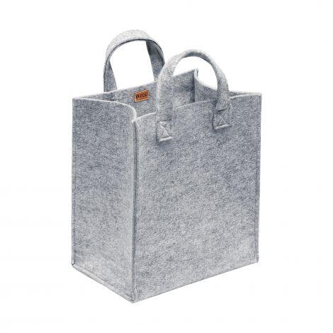 Iittala Meno-veske 350x300x200mm grå filt