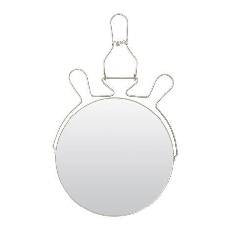 Meraki effects speil stål Ø25cm