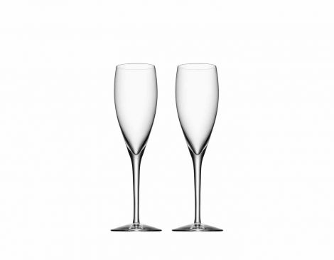 Orrefors More Champagne 2 pk 18 cl