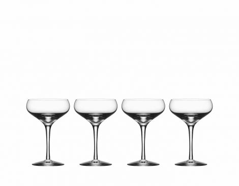 Orrefors More Coupe Cocktailglass 4 pk 21 cl. Levering januar 2021.
