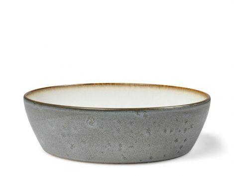 Bitz Suppeskål Dia. 18 x 4,8 cm grå/kremfarget