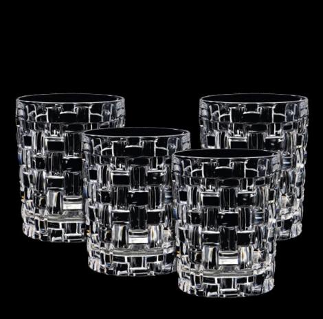 Nachtmann Bossa Nova Whiskyglass 4 pk 33 cl