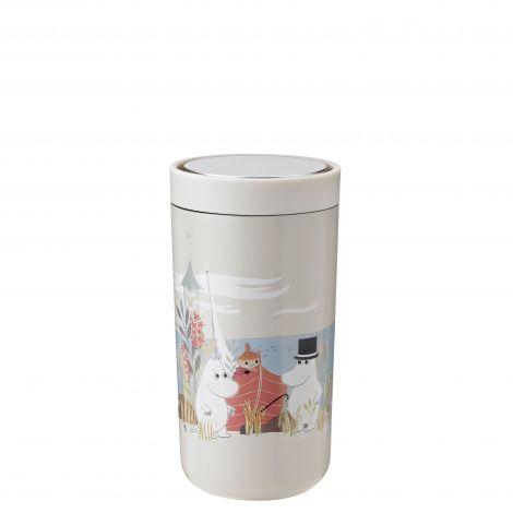 Stelton To Go Click Termokopp Moomin Sand 0.2 L