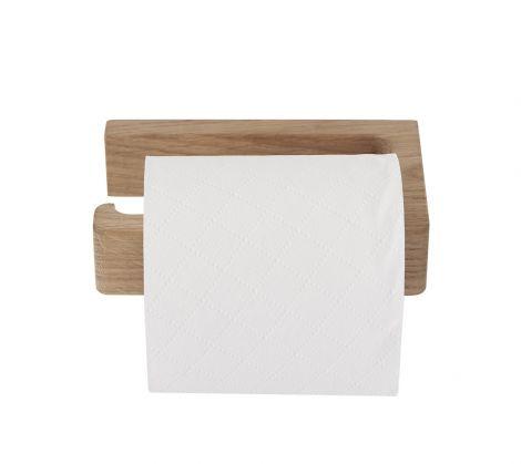 Andersen Toalettrullholder Hvitpigmentert Eik