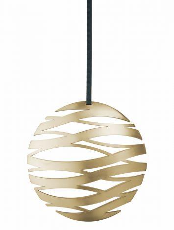 Stelton Tangle Ball stor messing B: 17 H: 16 cm