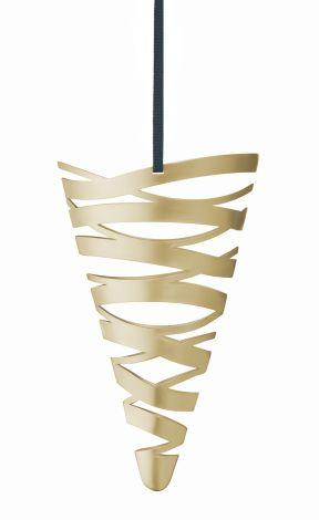 Stelton Tangle Kremmerhus stor messing B: 14,5 H: 22 cm