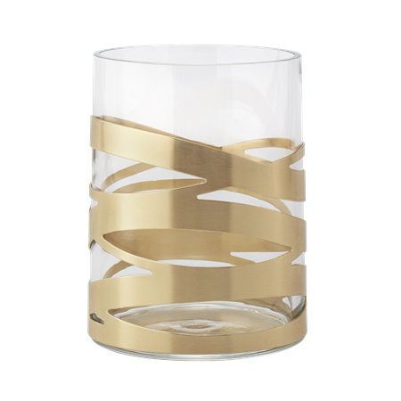 Stelton Tangle Vase Medium Messing