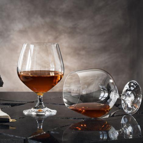 Orrefors Prestige Cognac 50 cl 4stk
