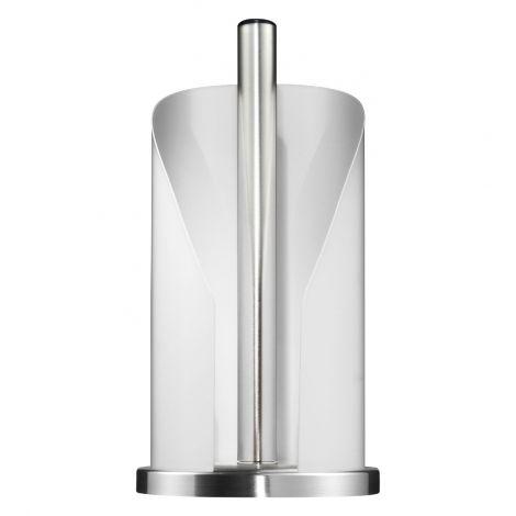Wesco Toalettrull-/kjøkkenrullholder Matt Hvit 30cm