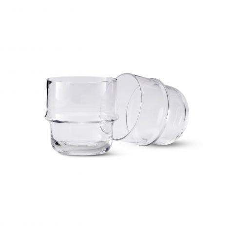 Design House Stockholm Unda Glass Klar 4 stk
