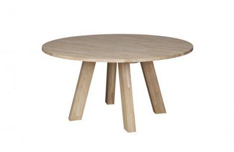 WOOOD Rhonda spisebord 150 cm eik ubehandlet