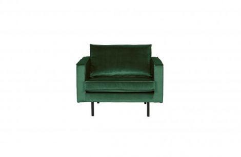BePureHome Rodeo Sofa stol Fløyel Skoggrønn