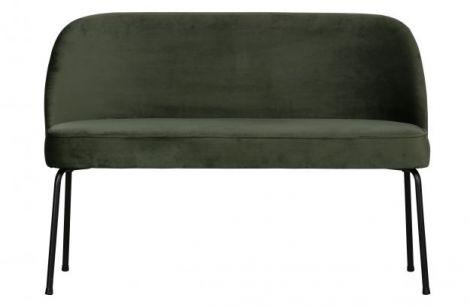 BePureHome Vogue Dining Bench Velvet Onyx