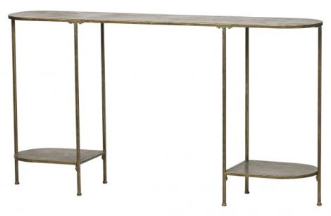 BePureHome Federal Sideboard Metal Messing