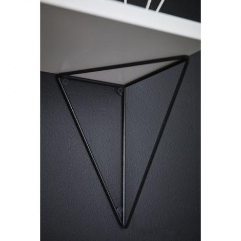 Maze Pythagoras Hyllebrakett Svart 2 stk