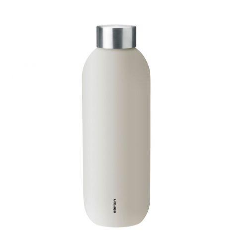 Stelton Keep Cool Drikkeflaske Sand 0,6L