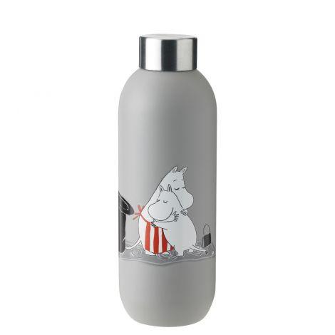 Stelton Mummi Drikkeflaske Lys Grå 0,75L