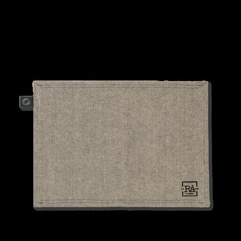 Juna Rå Dekkebrikker mørk grå 50x35 cm 2 stk.