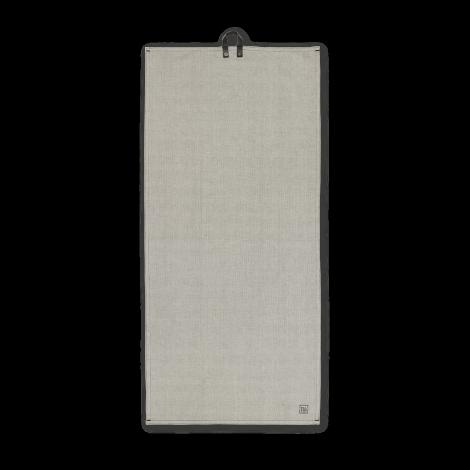 Juna Rå Kjøkkenhåndkle mørk grå 50x110 cm