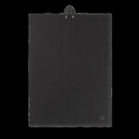 Juna Rå Kjøkkenhåndkle sort 50x70 cm