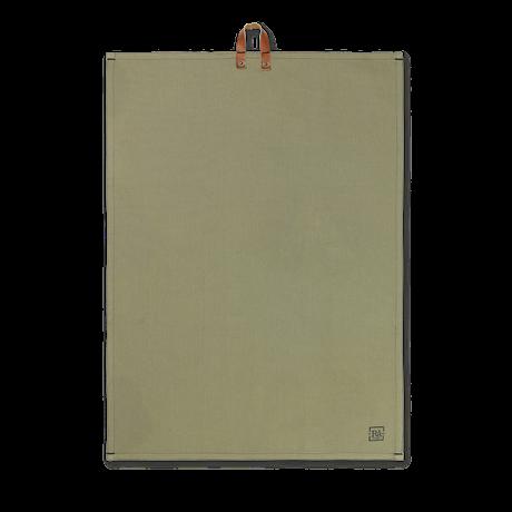 Juna Rå Kjøkkenhåndkle støvet grønn 50x110 cm