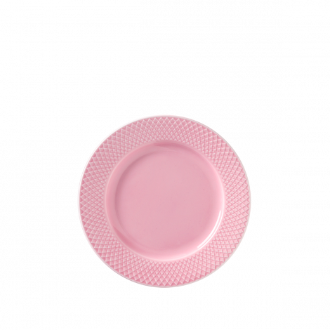 Lyngby Rhombe Plate Pink Ø21cm. Levering februar 2021.