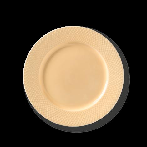 Lyngby Rhombe Plate Sand Ø27cm