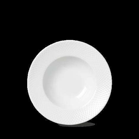 Lyngby Rhombe Pasta Tallerken Ø24,5 cm