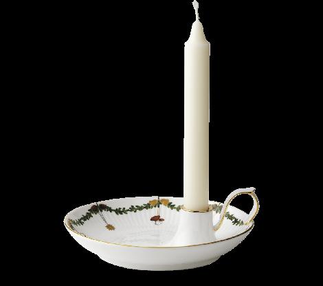 Royal Copenhagen Stjerne Riflet Christmas Candlestick / Bowl