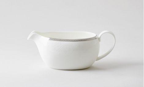 Royal Porcelain Silver Paisley Sausenebb 40 cl