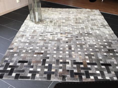 Linie Design Skinn Weave Grey 140x200